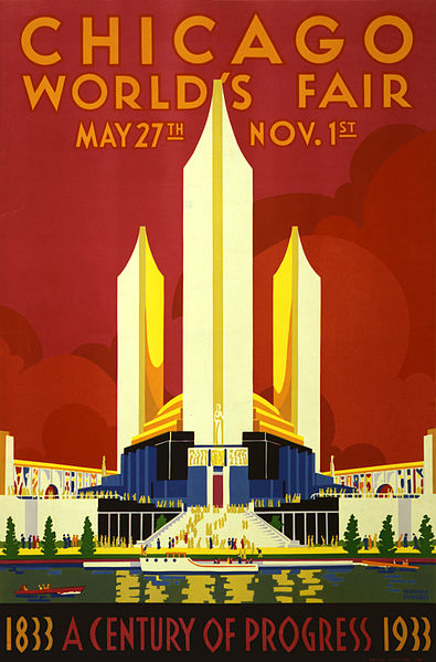 l'expo world's fair de chicago en 1933